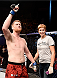PORTO ALEGRE, BRAZIL - FEBRUARY 22: Sam Alvey of the United States celebrates after defeating Cezar Ferreira of Brazil c in their middleweight bout during the UFC Fight Night at Gigantinho Gymnasium on February 22, 2015 in Porto Alegre, Brazil. (Photo by Buda Mendes/Zuffa LLC/Zuffa LLC via Getty Images)