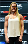 LOS ANGELES, CA - FEBRUARY 25:  Holly Holm poses for a photo during the UFC 184 Ultimate Media Day at Club Nokia on February 25, 2015 in Los Angeles, California. (Photo by Josh Hedges/Zuffa LLC/Zuffa LLC via Getty Images)