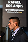 DALLAS, TX - MARCH 12:  Rafael dos Anjos of Brazil interacts with media during the UFC 185 Ultimate Media Day at the American Airlines Center on March 12, 2015 in Dallas, Texas. (Photo by Josh Hedges/Zuffa LLC/Zuffa LLC via Getty Images)