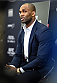 KRAKOW, POLAND - APRIL 08:  Jimi Manuwa of England interacts with media during the UFC Fight Night Ultimate Media Day inside the TAURON Arena on April 8, 2015 in Krakow, Poland. (Photo by Jeff Bottari/Zuffa LLC/Zuffa LLC via Getty Images)