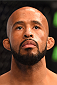 MONTREAL, QC - APRIL 25:   Demetrious Johnson of the United States stands in the Octagon before his UFC flyweight championship bout against Kyoji Horiguchi during the UFC 186 event at the Bell Centre on April 25, 2015 in Montreal, Quebec, Canada. (Photo by Josh Hedges/Zuffa LLC/Zuffa LLC via Getty Images)