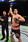 ADELAIDE, AUSTRALIA - MAY 10:   Robert Whittaker celebrates his knockout victory over Brad Tavares in their middleweight bout during the UFC Fight Night event at the Adelaide Entertainment Centre on May 10, 2015 in Adelaide, Australia. (Photo by Josh Hedges/Zuffa LLC/Zuffa LLC via Getty Images)
