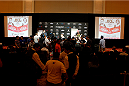 PARANAQUE, METRO MANILA, PHILIPPINES - MAY 14: Overall view of the UFC Ultimate Media Day at the Solaire Resort and Casino on May 14, 2015 in Paranaque, Metro Manila, Philippines. (Photo by Mitch Viquez/Zuffa LLC/Zuffa LLC via Getty Images)