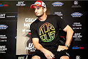 PARANAQUE, METRO MANILA, PHILIPPINES - MAY 14: Gegard Mousasi interacts with the media during the UFC Ultimate Media Day at the Solaire Resort and Casino on May 14, 2015 in Paranaque, Metro Manila, Philippines. (Photo by Mitch Viquez/Zuffa LLC/Zuffa LLC via Getty Images)