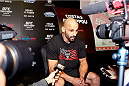 PARANAQUE, METRO MANILA, PHILIPPINES - MAY 14: Costas Philippou interacts with the media during the UFC Ultimate Media Day at the Solaire Resort and Casino on May 14, 2015 in Paranaque, Metro Manila, Philippines. (Photo by Mitch Viquez/Zuffa LLC/Zuffa LLC via Getty Images)