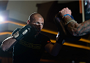 LAS VEGAS, NEVADA - MAY 20:   Donald Cerrone holds an open training session for fans and media at the MGM Grand Hotel/Casino on May 20, 2015 in Las Vegas Nevada. (Photo by Brandon Magnus/Zuffa LLC/Zuffa LLC via Getty Images)