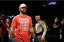 LAS VEGAS, NV - MAY 23:  Andrei Arlovski walks to the Octagon to face Travis Browne in their heavyweight bout during the UFC 187 event at the MGM Grand Garden Arena on May 23, 2015 in Las Vegas, Nevada.  (Photo by Christian Petersen/Zuffa LLC/Zuffa LLC via Getty Images)
