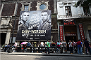 MEXICO CITY, MEXICO - JUNE 10:  A general view outside during the UFC 188 open workouts at the Interactive Museum of Economics on June 10, 2015 in Mexico City, Mexico. (Photo by Jeff Bottari/Zuffa LLC/Zuffa LLC via Getty Images)