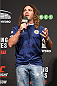 GLASGOW, SCOTLAND - JULY 17:  Featherweight Clay Guida interacts with fans during a Q&A session before the UFC weigh-in inside the SSE Hydro on July 17, 2015 in Glasgow, Scotland.  (Photo by Josh Hedges/Zuffa LLC/Zuffa LLC via Getty Images)