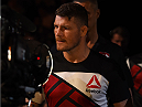 GLASGOW, SCOTLAND - JULY 18:  Michael Bisping of England enters the arena before his middleweight fight against Thales Leites of Brazil during the UFC Fight Night event inside the SSE Hydro on July 18, 2015 in Glasgow, Scotland.  (Photo by Josh Hedges/Zuffa LLC/Zuffa LLC via Getty Images)
