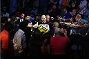 NASHVILLE, TN - AUGUST 08:  Glover Teixeira of Brazil enters the arena before facing Ovince Saint Preux in their light heavyweight bout during the UFC Fight Night event at Bridgestone Arena on August 8, 2015 in Nashville, Tennessee.  (Photo by Josh Hedges/Zuffa LLC/Zuffa LLC via Getty Images)