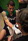 LAS VEGAS, NV - MARCH 24:  Cesar Arzamendia gets his hands wrapped before facing Oliver Meza during the filming of The Ultimate Fighter Latin America: Team Gastelum vs Team Escudero  on March 24, 2015 in Las Vegas, Nevada. (Photo by Brandon Magnus/Zuffa LLC/Zuffa LLC via Getty Images) *** Local Caption ***