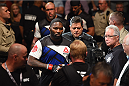 LAS VEGAS, NV - SEPTEMBER 05: Anthony Johnson walks to the Octagon to face Jimi Manuwa in their light heavyweight bout during the UFC 191 event inside MGM Grand Garden Arena on September 5, 2015 in Las Vegas, Nevada.  (Photo by Josh Hedges/Zuffa LLC/Zuffa LLC via Getty Images) *** Local Caption *** Anthony Johnson