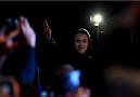MELBOURNE, AUSTRALIA - NOVEMBER 14: UFC women's strawweight champion Joanna Jedrzejczyk of Poland walks to the scale during the UFC 193 weigh-in at Etihad Stadium on November 14, 2015 in Melbourne, Australia. (Photo by Josh Hedges/Zuffa LLC/Zuffa LLC via Getty Images)
