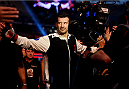 MELBOURNE, AUSTRALIA - NOVEMBER 15:  Anthony Perosh shakes hands with fans before his fight against Gian Villante (not pictured) in their light heavyweight bout during the UFC 193 event at Etihad Stadium on November 15, 2015 in Melbourne, Australia.  (Photo by Josh Hedges/Zuffa LLC/Zuffa LLC via Getty Images)