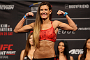 SEOUL, SOUTH KOREA - NOVEMBER 27: Cortney Casey during the UFC Fight Night weigh-in at the Olympic Park Gymnastics Arena on November 27, 2015 in Seoul, South Korea. (Photo by Mitch Viquez/Zuffa LLC/Zuffa LLC via Getty Images)