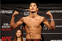 SEOUL, SOUTH KOREA - NOVEMBER 27: Dong Hyun Kim during the UFC Fight Night weigh-in at the Olympic Park Gymnastics Arena on November 27, 2015 in Seoul, South Korea. (Photo by Mitch Viquez/Zuffa LLC/Zuffa LLC via Getty Images)