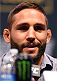 LAS VEGAS, NV - DECEMBER 09:  Chad Mendes interacts with media during the UFC Press Conference inside MGM Grand Garden Arena on December 9, 2015 in Las Vegas, Nevada.  (Photo by Josh Hedges/Zuffa LLC/Zuffa LLC via Getty Images)