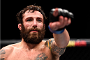 LAS VEGAS, NEVADA - DECEMBER 10:  Michael Chiesa celebrates his win over Jim Miller in their lightweight bout during the UFC Fight Night event at The Chelsea at the Cosmopolitan of Las Vegas on December 10, 2015 in Las Vegas, Nevada.  (Photo by Jeff Bottari/Zuffa LLC/Zuffa LLC via Getty Images)