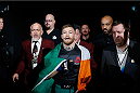 LAS VEGAS, NV - DECEMBER 12: Conor McGregor of Ireland walks to the Octagon to face Jose Aldo of Brazil in their UFC welterweight championship bout during the UFC 194 event inside MGM Grand Garden Arena on December 12, 2015 in Las Vegas, Nevada.  (Photo by Christian Petersen/Zuffa LLC/Zuffa LLC via Getty Images) *** Local Caption *** Conor McGregor