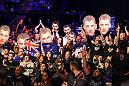 AUCKLAND, NEW ZEALAND - JUNE 11:  Fans show support for Dan Hooker of New Zealand during the UFC Fight Night event at the Spark Arena on June 11, 2017 in Auckland, New Zealand. (Photo by Josh Hedges/Zuffa LLC/Zuffa LLC via Getty Images)