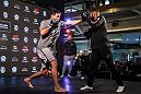 Demian Maia at the UFC Chile Open Workouts