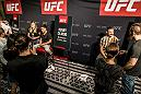 UFC 227 Ultimate Media Day. Cody Garbrandt, Henry Cejudo and Cub Swanson all interact with the media as they prepare for Saturday's event. (Photo Credit: Juan Cardenas)