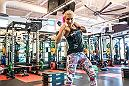 LAS VEGAS 9/12/18 - UFC Bantamweight Yana Kunitskaya training at the UFC Performance Institute in Las Vegas, in preparation for her fight at UFC229. (Photo credit Juan Cardenas)