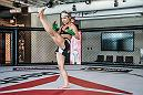 LAS VEGAS 9/14/18 - UFC Strawweight fighter Felice Herrig trainig at the UFC Performance Institute in Las Vegas for her UFC 229 bout. (Photo credit: Juan Cardenas)