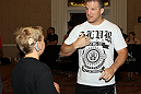 UFC 130 Open Workouts: Matt Hamill