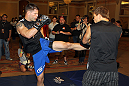 UFC 130 Open Workouts: Brian Stann