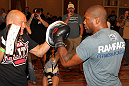 UFC 130 Open Workouts: Rampage Jackson