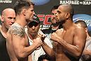 UFC 130 Weigh-ins: Brian Stann vs. Jorge Santiago