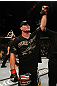 UFC 130: Brian Stann celebrates his win.