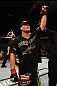 UFC 130: Brian Stann celebrates his win.