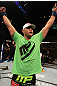 UFC 130: Travis Browne celebrates his win