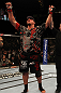UFC 130: Frank Mir celebrates his win