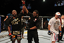 UFC 130: Rampage Jackson celebrates his win