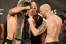 TUF 13 Finale Weigh-ins: Harvison vs. Edwards