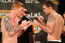 TUF 13 Finale Weigh-ins: Herman vs. Credeur