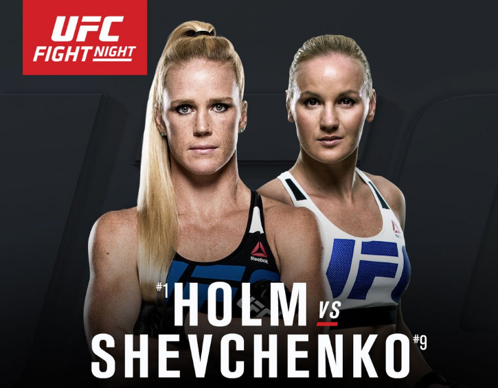 Holm Vs. Shevchenko forecast and predictions.