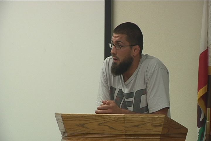 McGee speaks to inmates about life after addiction