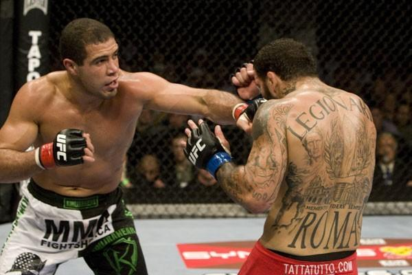 UFC middleweight Thales Leites