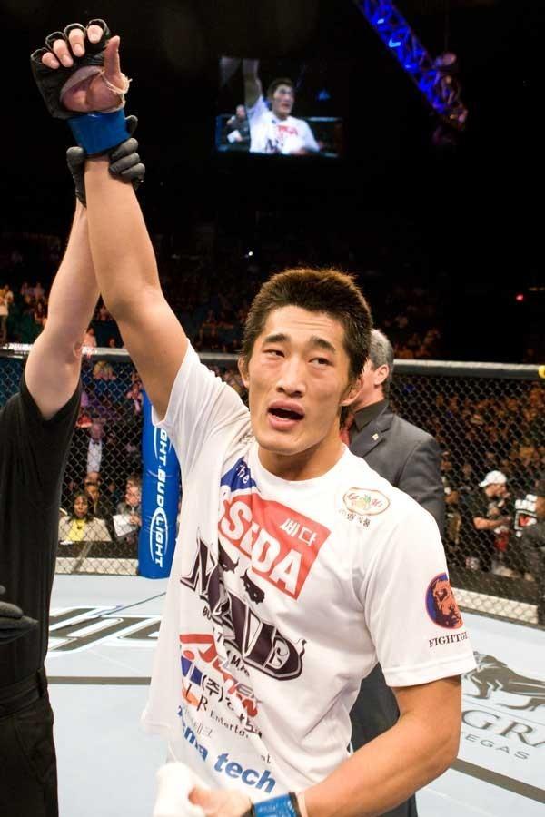 UFC welterweight Kim Dong Hyun