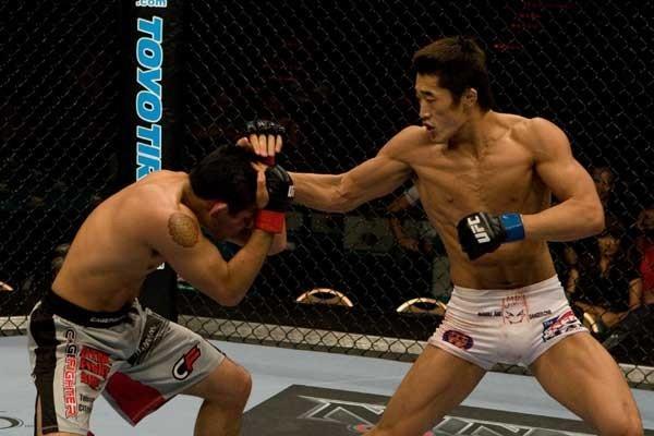UFC welterweight Dong Hyun Kim