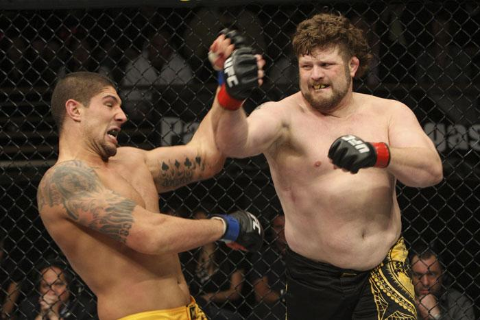 TUF 10 winner and TUF 16 coach Roy Nelson