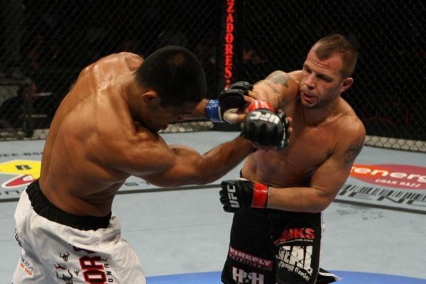 UFC welterweight Nick Catone