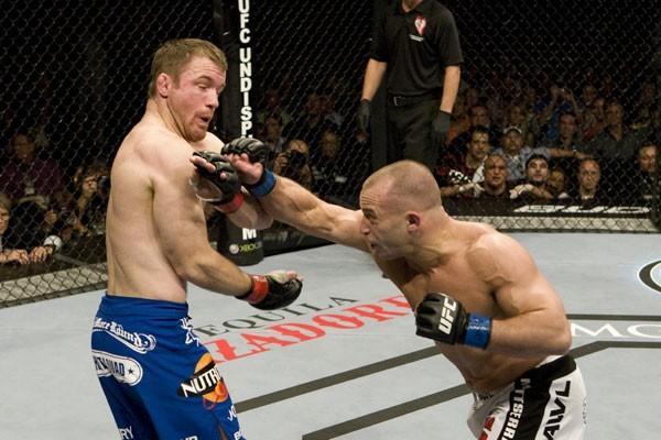 Former UFC welterweight champion Matt Serra