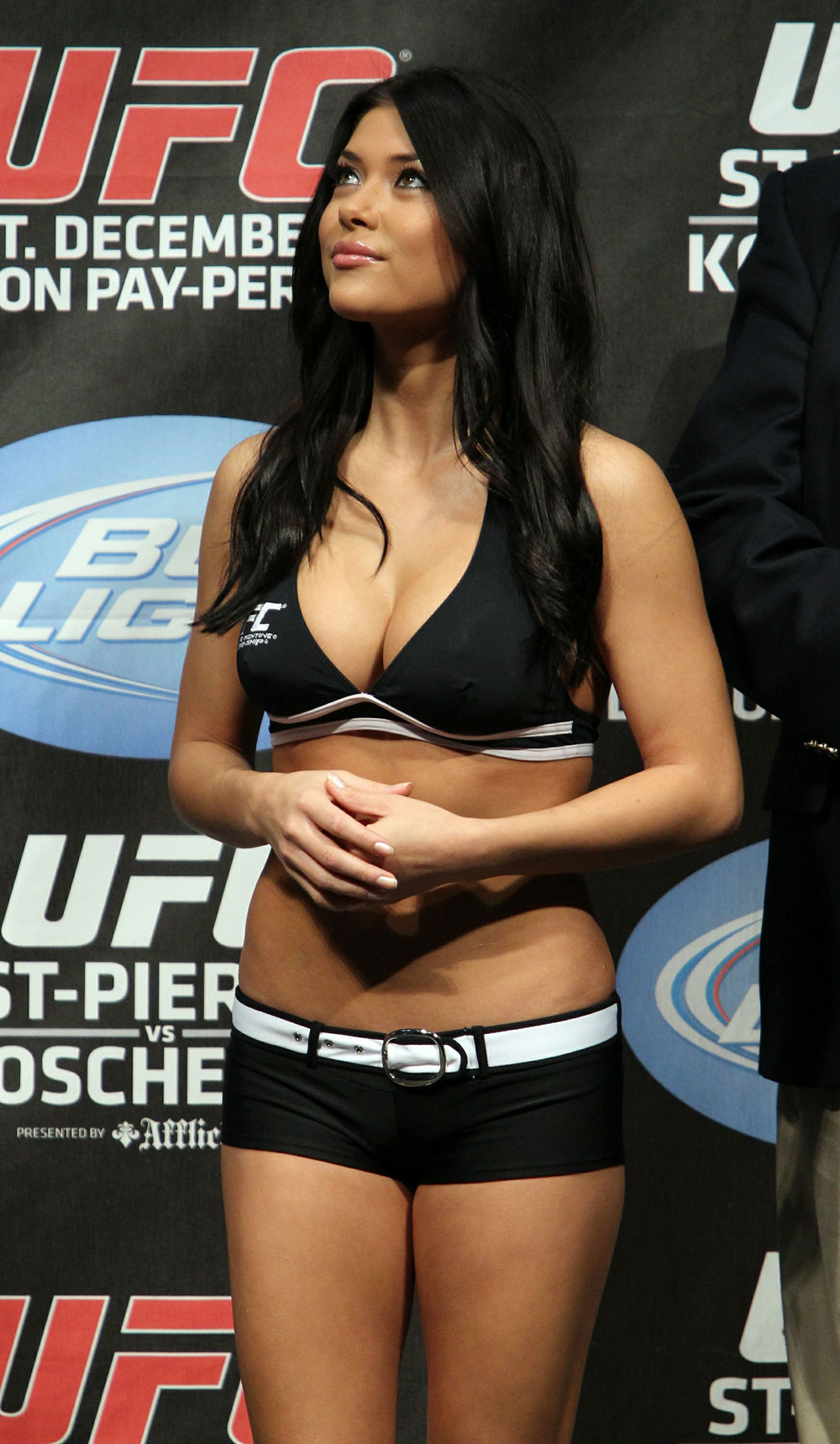 UFC 124 Weigh-in: Octagon Girl Arianny Celeste