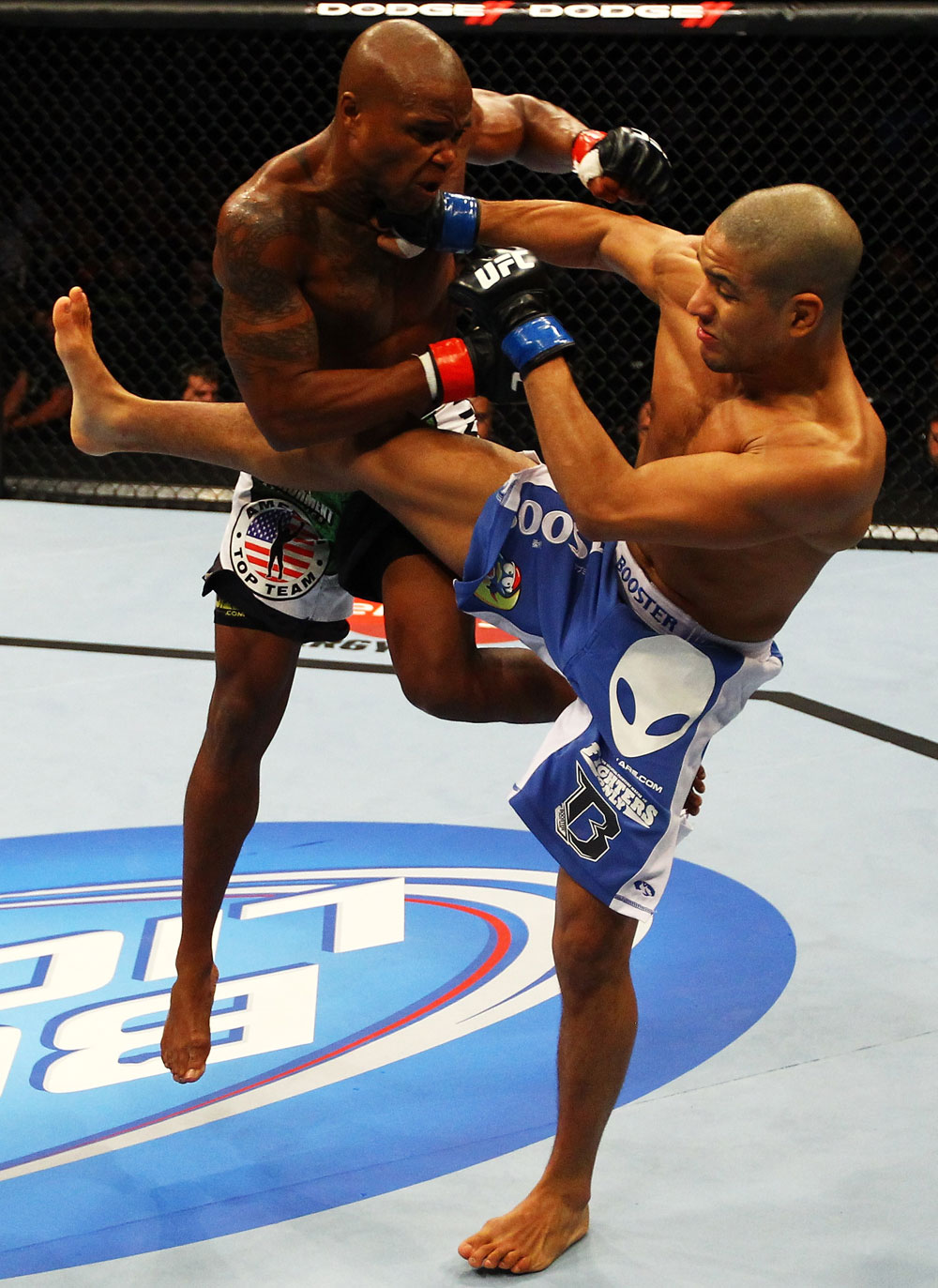 UFC featherweight Marcus Brimage